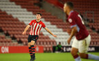 SOUTHAMPTON, ENGLAND - MAY 03: Tom O'Connor scores after taking a free kick during the U23s PL2 Play off Semi-Final between Southampton FC and Aston Villa FC pictured at St Mary's Stadium on May 03, 2019 in Southampton, England. (Photo by James Bridle - Southampton FC/Southampton FC via Getty Images)