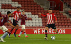 SOUTHAMPTON, ENGLAND - MAY 03: Will Smallbone (right) during the U23s PL2 Play off Semi-Final between Southampton FC and Aston Villa FC pictured at St Mary's Stadium on May 03, 2019 in Southampton, England. (Photo by James Bridle - Southampton FC/Southampton FC via Getty Images)