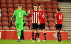 SOUTHAMPTON, ENGLAND - MAY 03: Will Smallbone (middle) during the U23s PL2 Play off Semi-Final between Southampton FC and Aston Villa FC pictured at St Mary's Stadium on May 03, 2019 in Southampton, England. (Photo by James Bridle - Southampton FC/Southampton FC via Getty Images)