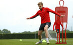SOUTHAMPTON, ENGLAND - MAY 09: Stuart Armstrong during a Southampton FC training session pictured at Staplewood Training Ground on May 9, 2019 in Southampton, England. (Photo by James Bridle - Southampton FC/Southampton FC via Getty Images)