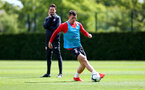 SOUTHAMPTON, ENGLAND - MAY 10: Pierre-Emile Hojbjerg during a Southampton FC training session at the Staplewood Campus on May 10, 2019 in Southampton, England. (Photo by Matt Watson/Southampton FC via Getty Images)