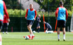 SOUTHAMPTON, ENGLAND - MAY 10: Matt Targett during a Southampton FC training session at the Staplewood Campus on May 10, 2019 in Southampton, England. (Photo by Matt Watson/Southampton FC via Getty Images)