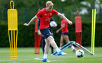 SOUTHAMPTON, ENGLAND - MAY 10: Josh Sims during a Southampton FC training session at the Staplewood Campus on May 10, 2019 in Southampton, England. (Photo by Matt Watson/Southampton FC via Getty Images)