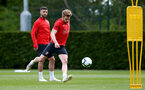 SOUTHAMPTON, ENGLAND - MAY 10: Stuart Armstrong during a Southampton FC training session at the Staplewood Campus on May 10, 2019 in Southampton, England. (Photo by Matt Watson/Southampton FC via Getty Images)