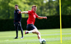 SOUTHAMPTON, ENGLAND - MAY 10: James Ward-Prowse during a Southampton FC training session at the Staplewood Campus on May 10, 2019 in Southampton, England. (Photo by Matt Watson/Southampton FC via Getty Images)