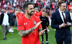 SOUTHAMPTON, ENGLAND - MAY 12: Danny Ings during the Premier League match between Southampton FC and Huddersfield Town at St Mary's Stadium on May 12, 2019 in Southampton, United Kingdom. (Photo by Matt Watson/Southampton FC via Getty Images)