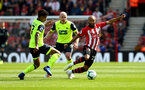 SOUTHAMPTON, ENGLAND - MAY 12: Nathan Redmond of Southampton during the Premier League match between Southampton FC and Huddersfield Town at St Mary's Stadium on May 12, 2019 in Southampton, United Kingdom. (Photo by Matt Watson/Southampton FC via Getty Images)