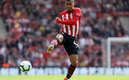 SOUTHAMPTON, ENGLAND - MAY 12: Yan Valery during the Premier League match between Southampton FC and Huddersfield Town at St Mary's Stadium on May 12, 2019 in Southampton, United Kingdom. (Photo by Chris Moorhouse/Southampton FC)