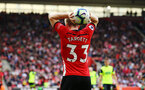 SOUTHAMPTON, ENGLAND - MAY 12: Matt Target during the Premier League match between Southampton FC and Huddersfield Town at St Mary's Stadium on May 12, 2019 in Southampton, United Kingdom. (Photo by James Bridle - Southampton FC/Southampton FC via Getty Images)