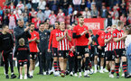SOUTHAMPTON, ENGLAND - MAY 12: Lap of appreciation after the Premier League match between Southampton FC and Huddersfield Town at St Mary's Stadium on May 12, 2019 in Southampton, United Kingdom. (Photo by Chris Moorhouse/Southampton FC)