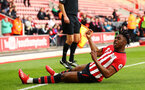 SOUTHAMPTON, ENGLAND - MAY 13: Dan Nlundulu scores for Southampton FC from a header during the U23s PL2 Play off final between Southampton and Newcastle United pictured at St. Mary's Stadium on May 13, 2019 in Southampton, England. (Photo by James Bridle - Southampton FC/Southampton FC via Getty Images)