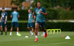 SOUTHAMPTON, ENGLAND - JULY 03: Yan Valery during a Southampton FC pre-season training session at the Staplewood Campus on July 03, 2019 in Southampton, England. (Photo by Matt Watson/Southampton FC via Getty Images)