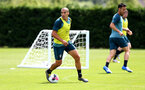 SOUTHAMPTON, ENGLAND - JULY 03: Oriol Romeu during a Southampton FC pre-season training session at the Staplewood Campus on July 03, 2019 in Southampton, England. (Photo by Matt Watson/Southampton FC via Getty Images)