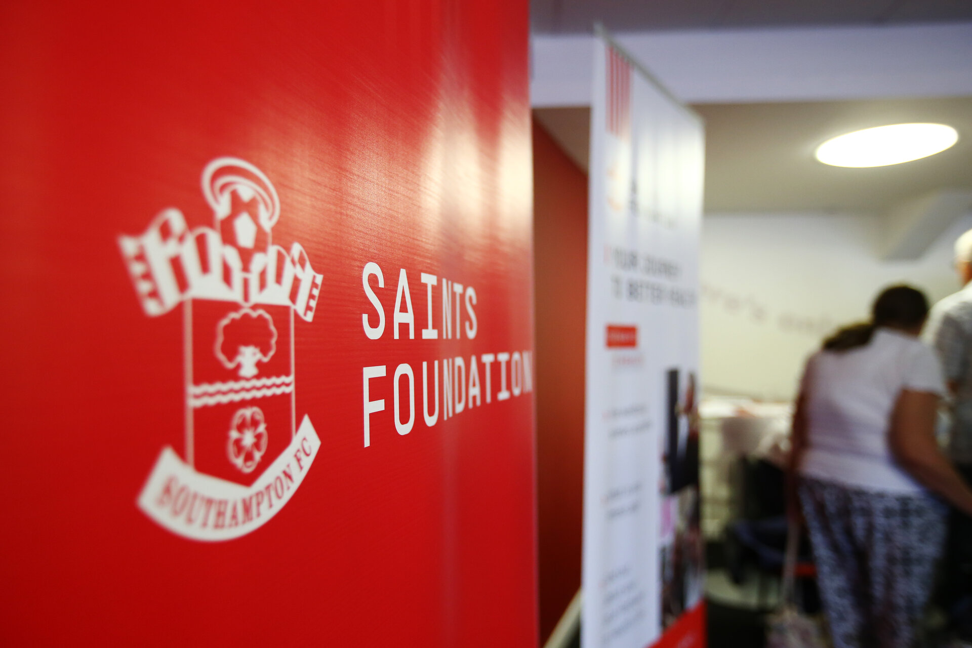 SOUTHAMPTON, ENGLAND - JULY 04:  during the Saints Foundation Charity event helping the aged to maintain their freedom pictured at St Mary's Stadium on July 4, 2019 in Southampton, England. (Photo by James Bridle - Southampton FC/Southampton FC via Getty Images)