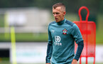 SCHRUNS, AUSTRIA - JULY 08: James Ward-Prowse during a Southampton FC pre season training session, on July 08, 2019 in Schruns, Austria. (Photo by Matt Watson/Southampton FC via Getty Images)