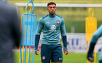 SCHRUNS, AUSTRIA - JULY 08: Che Adams during a Southampton FC pre season training session, on July 08, 2019 in Schruns, Austria. (Photo by Matt Watson/Southampton FC via Getty Images)