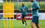 SCHRUNS, AUSTRIA - JULY 08: Nathan Redmond during a Southampton FC pre season training session, on July 08, 2019 in Schruns, Austria. (Photo by Matt Watson/Southampton FC via Getty Images)