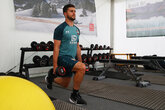 Video: Saints tackle the weights