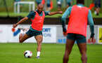 SCHRUNS, AUSTRIA - JULY 12: Nathan Redmond during a Southampton FC pre season training session on July 12, 2019 in Schruns, Austria. (Photo by Matt Watson/Southampton FC via Getty Images)