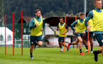 SCHRUNS, AUSTRIA - JULY 13: Jake Vokins during a Southampton FC pre season training session on July 13, 2019 in Schruns, Austria. (Photo by Matt Watson/Southampton FC via Getty Images)
