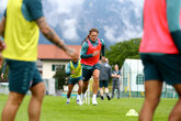 Video: Saints' final session in Austria