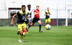ALTACH, AUSTRIA - JULY 14: Che Adams of Southampton during the pre-season friendly match between SCR Altach and Southampton FC at The Cashpoint Arena on July 14, 2019 in Altach, Austria. (Photo by Matt Watson/Southampton FC via Getty Images)