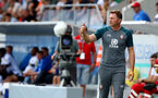 ALTACH, AUSTRIA - JULY 14: Ralph Hasenhuttl of Southampton during the pre-season friendly match between SCR Altach and Southampton FC at The Cashpoint Arena on July 14, 2019 in Altach, Austria. (Photo by Matt Watson/Southampton FC via Getty Images)