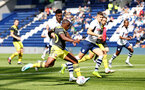 PRESTON, ENGLAND - JULY 20: Michael Obafemi during the pre-season friendly game between Preston North End and Southampton FC pictured at Deepdale on July 20, 2019 in Preston, England. (Photo by James Bridle - Southampton FC/Southampton FC via Getty Images)