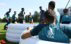 DUBLIN, ENGLAND - JULY 23: during a Southampton FC training session pictured at Carton House Spa and Resort for Pre-Season Training on July 23, 2019 in Southampton, England. (Photo by James Bridle - Southampton FC/Southampton FC via Getty Images)