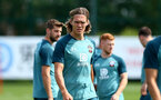 SOUTHAMPTON, ENGLAND - JULY 31: Jannik Vestergaard during a Southampton FC training session at the Staplewood Campus on July 31, 2019 in Southampton, England. (Photo by Matt Watson/Southampton FC via Getty Images)