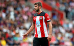 SOUTHAMPTON, ENGLAND - AUGUST 03: Jack Stephens of Southampton during the Pre-Season Friendly match between Southampton FC and FC Köln at St. Mary's Stadium on August 03, 2019 in Southampton, England. (Photo by Matt Watson/Southampton FC via Getty Images,)