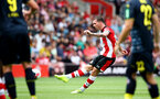 SOUTHAMPTON, ENGLAND - AUGUST 03: Pierre-Emile Hojbjerg of Southampton during the Pre-Season Friendly match between Southampton FC and FC Köln at St. Mary's Stadium on August 03, 2019 in Southampton, England. (Photo by Matt Watson/Southampton FC via Getty Images,)