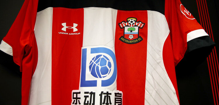 SOUTHAMPTON, ENGLAND - AUGUST 03: Southampton FC shirts ahead of the Pre-Season Friendly match between Southampton FC and FC Köln at St. Mary's Stadium on August 03, 2019 in Southampton, England. (Photo by Matt Watson/Southampton FC via Getty Images,)