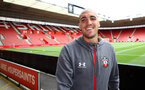 SOUTHAMPTON, ENGLAND - AUGUST 03: Oriol Romeu of Southampton FC ahead of the Pre-Season Friendly match between Southampton FC and FC Köln at St. Mary's Stadium on August 03, 2019 in Southampton, England. (Photo by Matt Watson/Southampton FC via Getty Images,)