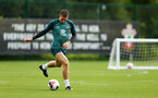 SOUTHAMPTON, ENGLAND - AUGUST 08: Pierre-Emile Hojbjerg during a first team training session pictured at Staplewood Training Ground on August 06, 2019 in Southampton, England. (Photo by James Bridle - Southampton FC/Southampton FC via Getty Images)