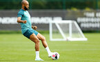 SOUTHAMPTON, ENGLAND - AUGUST 08: Nathan Redmond during a first team training session pictured at Staplewood Training Ground on August 06, 2019 in Southampton, England. (Photo by James Bridle - Southampton FC/Southampton FC via Getty Images)