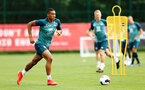 SOUTHAMPTON, ENGLAND - AUGUST 08: Yan Valery during a first team training session pictured at Staplewood Training Ground on August 06, 2019 in Southampton, England. (Photo by James Bridle - Southampton FC/Southampton FC via Getty Images)