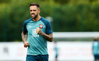 SOUTHAMPTON, ENGLAND - AUGUST 07: Danny Ings during a Southampton FC training session pictured at Staplewood Training Ground on August 07, 2019 in Southampton, England. (Photo by James Bridle - Southampton FC/Southampton FC via Getty Images)