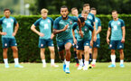 SOUTHAMPTON, ENGLAND - AUGUST 08: Ryan Bertrand during a Southampton FC Training Session pictured at Staplewood Training Ground on August 08, 2019 in Southampton, England. (Photo by James Bridle - Southampton FC/Southampton FC via Getty Images)