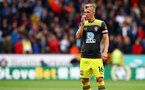 BURNLEY, ENGLAND - AUGUST 10: James Ward-Prowse of Southampton during the Premier League match between Burnley FC and Southampton FC at Turf Moor on August 10, 2019 in Burnley, United Kingdom. (Photo by Matt Watson/Southampton FC via Getty Images)