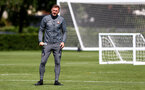SOUTHAMPTON, ENGLAND - AUGUST 13: Ralph Hasenhuttl during a Southampton FC training session at the Staplewood Campus on August 13, 2019 in Southampton, England. (Photo by Matt Watson/Southampton FC via Getty Images)