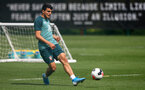 SOUTHAMPTON, ENGLAND - AUGUST 13: Mohamed Elyounoussi during a Southampton FC training session at the Staplewood Campus on August 13, 2019 in Southampton, England. (Photo by Matt Watson/Southampton FC via Getty Images)