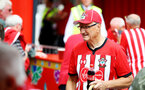SOUTHAMPTON, ENGLAND - AUGUST 17: fans inside the new Southampton fan zone ahead of the Premier League match between Southampton FC and Liverpool FC at St Mary's Stadium on August 17, 2019 in Southampton, United Kingdom. (Photo by James Bridle - Southampton FC/Southampton FC via Getty Images)