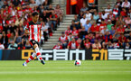 SOUTHAMPTON, ENGLAND - AUGUST 17: Maya Yoshida of Southampton during the Premier League match between Southampton FC and Liverpool FC at St Mary's Stadium on August 17, 2019 in Southampton, United Kingdom. (Photo by Matt Watson/Southampton FC via Getty Images)