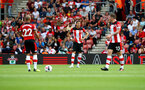 SOUTHAMPTON, ENGLAND - AUGUST 17: Jan Bednarek of Southampton during the Premier League match between Southampton FC and Liverpool FC at St Mary's Stadium on August 17, 2019 in Southampton, United Kingdom. (Photo by Matt Watson/Southampton FC via Getty Images)