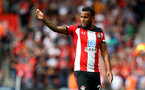 SOUTHAMPTON, ENGLAND - AUGUST 17: Ryan Bertrand of during the Premier League match between Southampton FC and Liverpool FC at St Mary's Stadium on August 17, 2019 in Southampton, United Kingdom. (Photo by Matt Watson/Southampton FC via Getty Images)