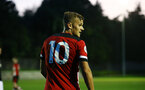 SOUTHAMPTON, ENGLAND - AUGUST 19: Kornelius Hansen during the match between Southampton FC and Derby County FC pictured at Staplewood Training Ground on August 19, 2019 in Southampton, England. (Photo by James Bridle - Southampton FC/Southampton FC via Getty Images)