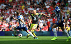 BRIGHTON, ENGLAND - AUGUST 24: Oriol Romeu of Southampton during the Premier League match between Brighton & Hove Albion and Southampton FC at American Express Community Stadium on August 24, 2019 in Brighton, United Kingdom. (Photo by Matt Watson/Southampton FC via Getty Images)