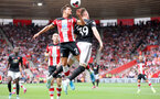 SOUTHAMPTON, ENGLAND - AUGUST 31: Cedric Soares during the Premier League match between Southampton FC and Manchester United at St Mary's Stadium on August 31, 2019 in Southampton, United Kingdom. (Photo by Chris Moorhouse/Southampton FC via Getty Images)