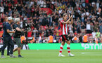 SOUTHAMPTON, ENGLAND - AUGUST 31: Jannik Vestergaard during the Premier League match between Southampton FC and Manchester United at St Mary's Stadium on August 31, 2019 in Southampton, United Kingdom. (Photo by Chris Moorhouse/Southampton FC via Getty Images)
